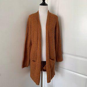 Burnt Orange Knit Cardigan